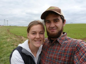 Krista and her husband, Tim Showalter Ehst