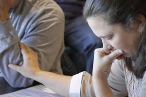 KrisAnne Swartley praying